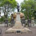 SAN JOSE, COSTA RICA - MAY 17: Simon Bolivar square, monument to Simon Bolivar in San Jose, Costa Rica on May 17, 2014. The monument is located in the central part of San Jose city; Shutterstock ID 383541232; Your name (First / Last): Josh Vogel; GL account no.: 56530; Netsuite department name: Online Design; Full Product or Project name including edition: Digital Content/Sights