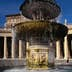 Fountain in Piazza San Pietro, in front of the Basilica di San Pietro - Rome, Vatican City