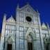 19th century neo-Gothic facade of Basilica of Santa Croce.