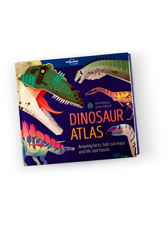 Explore lost lands with our award-winning Dinosaur Atlas