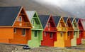 Svalbard is bright colours amidst nature