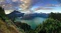 Lombok is smouldering vistas
