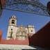 MEXICO-Guanajuato State-Guanajuato: Templo de San Cayetano de la Valenciana Church- (b.1788) Church by the famous Valenciana Silver Mine- Exterior