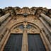 Main door of cathedral, Santiago de Compostela