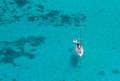 Noumea is floating in azure waters