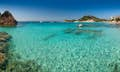 Sardinia is white sand and clear waters