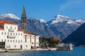 Perast is picturesque island views