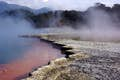 Rotorua is steaming geysers and Maori tradition