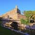 Spain, Balearic Islands, Palma de Mallorca, View of walls of Es Baluard