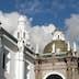 Quito Cathedral, porch dome