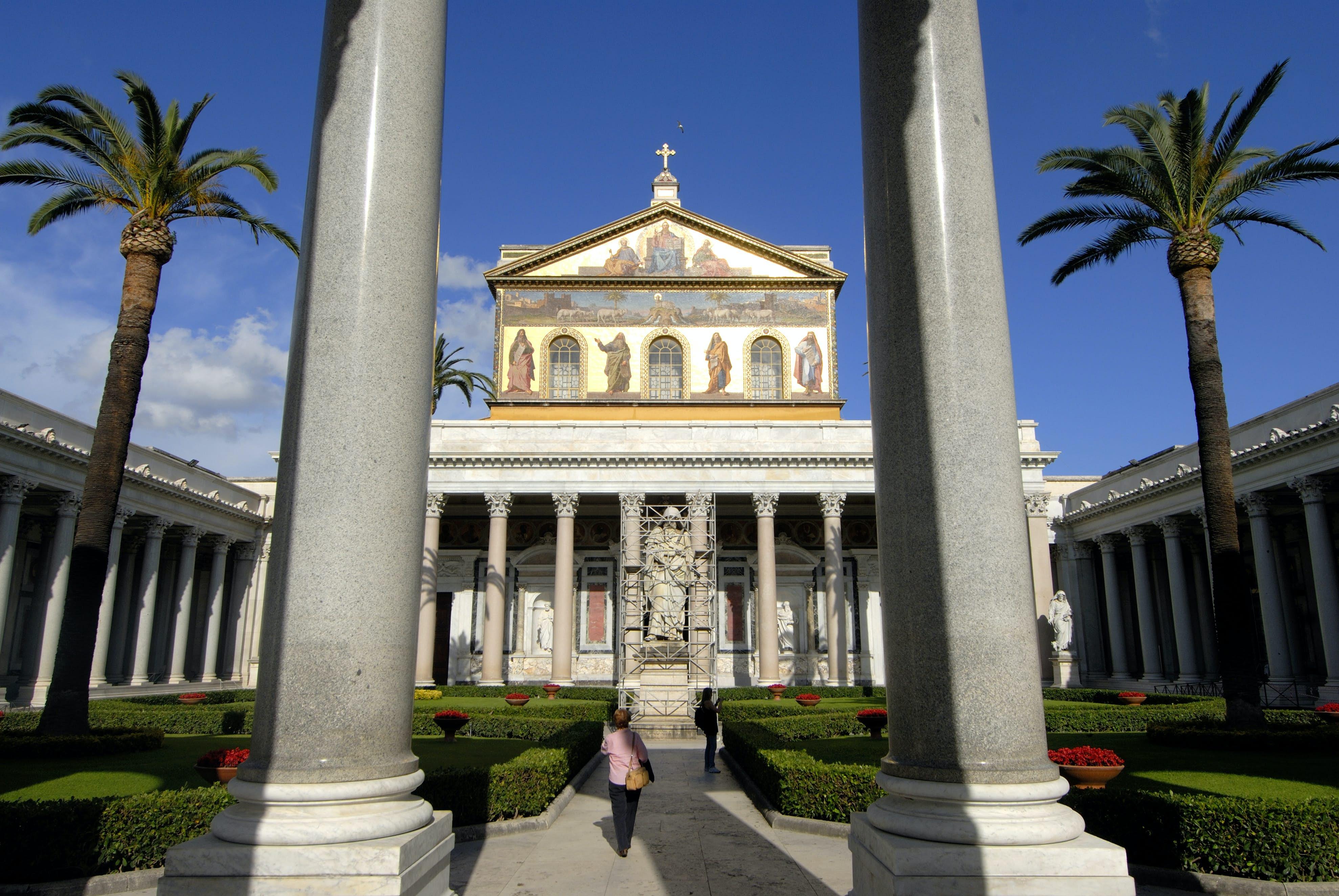Basilica Di San Paolo Fuori Le Mura Rome Italy Attractions Lonely Planet