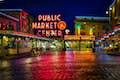 Washington is sunrise market strolls