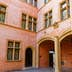 LYON, FRANCE, March 11, 2018 : Renaissance Architecture of the outsides of Gadagne Museum.; Shutterstock ID 1043863471; Your name (First / Last): Daniel Fahey; GL account no.: 65050; Netsuite department name: Online Editorial; Full Product or Project name including edition: Lyon BiT