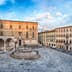 Panoramic view of Piazza IV Novembre, main square and masterpiece of medieval architecture in Perugia, Italy; Shutterstock ID 1043462140; Your name (First / Last): Anna Tyler; GL account no.: 65050; Netsuite department name: Online Editorial; Full Product or Project name including edition: destination-image-southern-europe