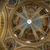 HAIFA, ISRAEL - JULY 17, 2008:  View on Stella Maris church of Carmelite monastery interior with dome painted by icons on July 17, 2008 in Haifa..; Shutterstock ID 741333706