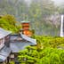 Nachi, Japan at the pagoda of Seigantoji and Nachi no Taki waterfall.; Shutterstock ID 693876538; Your name (First / Last): Laura Crawford; GL account no.: 65050; Netsuite department name: Online Editorial; Full Product or Project name including edition: Kii Peninsula page online images for BiT