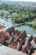 Lübeck is a tranquil riverside