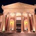 Teatro Massimo at night.