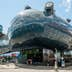 Graz, Austria - June 18, 2016: Kunsthaus Graz, an exhibition centre for contemporary art. The Kunsthaus with its futuristic design is also called the Friendly Alien by its architects Peter Cook and; Shutterstock ID 439401436; Your name (First / Last): Daniel Fahey; GL account no.: 65050; Netsuite department name: Online Editorial; Full Product or Project name including edition: Nice and Graz POIs