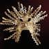 UNSPECIFIED - CIRCA 1900:  Pre-Columbian civilization, La Tolita culture - Ecuador, 5th century b.C.-5th century A.D. Golden sun mask. From La Tolita Island.  (Photo By DEA / G. DAGLI ORTI/De Agostini/Getty Images)