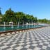 Batumi, Georgia - October 03, 2016: Fountains on Batumi boulevard. Seaside Park; Shutterstock ID 627260348; Your name (First / Last): Gemma Graham; GL account no.: 65050; Netsuite department name: Online Editorial; Full Product or Project name including edition: Georgia destination page masthead and POI images