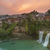 Furong Zhen Waterfall