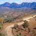 The well named Winding Road through South Australia's, Flinders Ranges National Park.