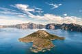 Crater Lake National Park is peaceful seclusion