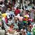 Market stall, central market, Lome, Togo