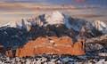 Colorado is panoramic peaks