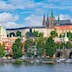 View of Prague castle and Charles Bridge; Shutterstock ID 83097769; Your name (First / Last): Gemma Graham; GL account no.: 65050; Netsuite department name: Online Editorial; Full Product or Project name including edition: POI imagery for LP.com