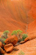 Uluru-Kata Tjuta National Park is an ancient place surrounded with secret knowledge