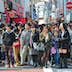 TOKYO - APRIL 1 2012: People, mostly youngsters, walk through Takeshita Dori near Harajuku train station on Sunday April 1 2012. Takeshita Dori is considered a birthplace of Japan's fashion trends.; Shutterstock ID 113994796; Your name (First / Last): Josh Vogel; Project no. or GL code: 56530; Network activity no. or Cost Centre: Online-Design; Product or Project: 65050/7529/Josh Vogel/LP.com Destination Galleries