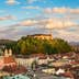 Panorama of the Slovenian capital Ljubljana at sunset.; Shutterstock ID 186963659; Your name (First / Last): Josh Vogel; Project no. or GL code: 56530; Network activity no. or Cost Centre: Online-Design; Product or Project: 65050/7529/Josh Vogel/LP.com Destination Galleries