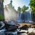 Tropical waterfall Phnom Kulen, Cambodia; Shutterstock ID 206283877; Your name (First / Last): Josh/Vogel; GL account no.: 56530; Netsuite department name: Online-Design; Full Product or Project name including edition: 65050/​Online Design​/JoshVogel/IYLs