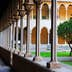 Gothic cloister of Pedralbes Monastery at Barcelona. Catalonia, Spain; Shutterstock ID 282984485; Your name (First / Last): Josh Vogel; Project no. or GL code: 56530; Network activity no. or Cost Centre: Online-Design; Product or Project: 65050/7529/Josh Vogel/LP.com Destination Galleries