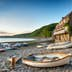 Boats in the harbour at Clovelly an historic fishing village on the Devon Heritage Coast; Shutterstock ID 285301700; Your name (First / Last): Josh Vogel; Project no. or GL code: 56530; Network activity no. or Cost Centre: Online-Design; Product or Project: 65050/7529/Josh Vogel/LP.com Destination Galleries