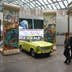 Parts of the Berlin Wall and a Traband car can be seen during the reopening of the permanent exhibition at the 'Haus der Geschichte' (lit. 'House of History' in Bonn, Germany, 11 December 2017. Photo: Henning Kaiser/dpa (Photo by Henning Kaiser/picture alliance via Getty Images)