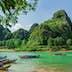 The boats - Phong Nha-Ke Bang National Park.