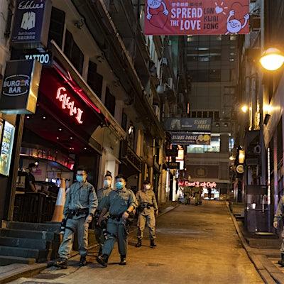 How major cities around the world look under lockdown