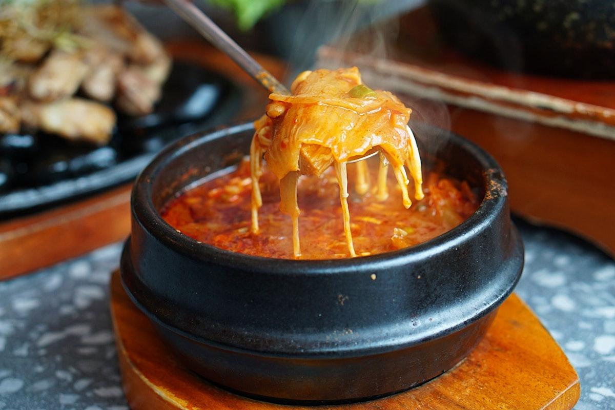 How to make Korean Kimchi Jjigae