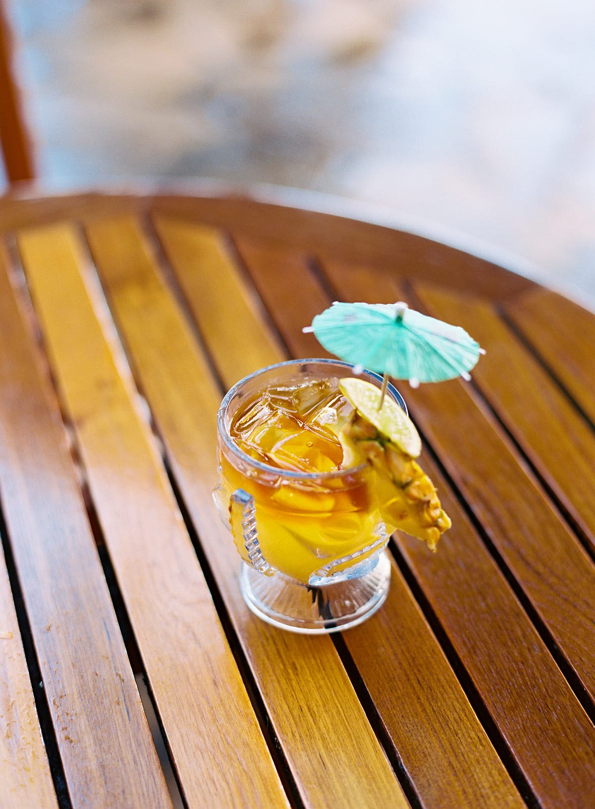 How to make a Polynesian Mai Tai