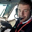 James challenged CAA regulations in order to fulfill his dream of becoming a pilot © James Bushe