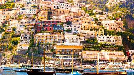 The beautiful town of Positano, Amalfi Coast, Italy