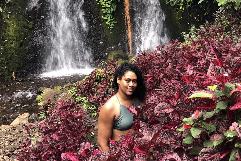 Lonely Planet writer MaSovaida Morgan in Bali.  Image courtesy of writer.
