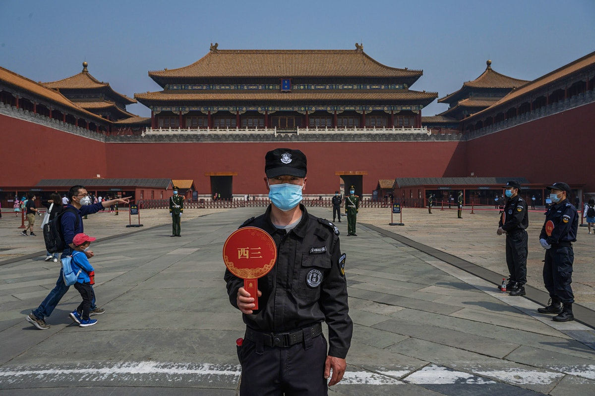Forbidden City and other popular Chinese sites re-open to the public
