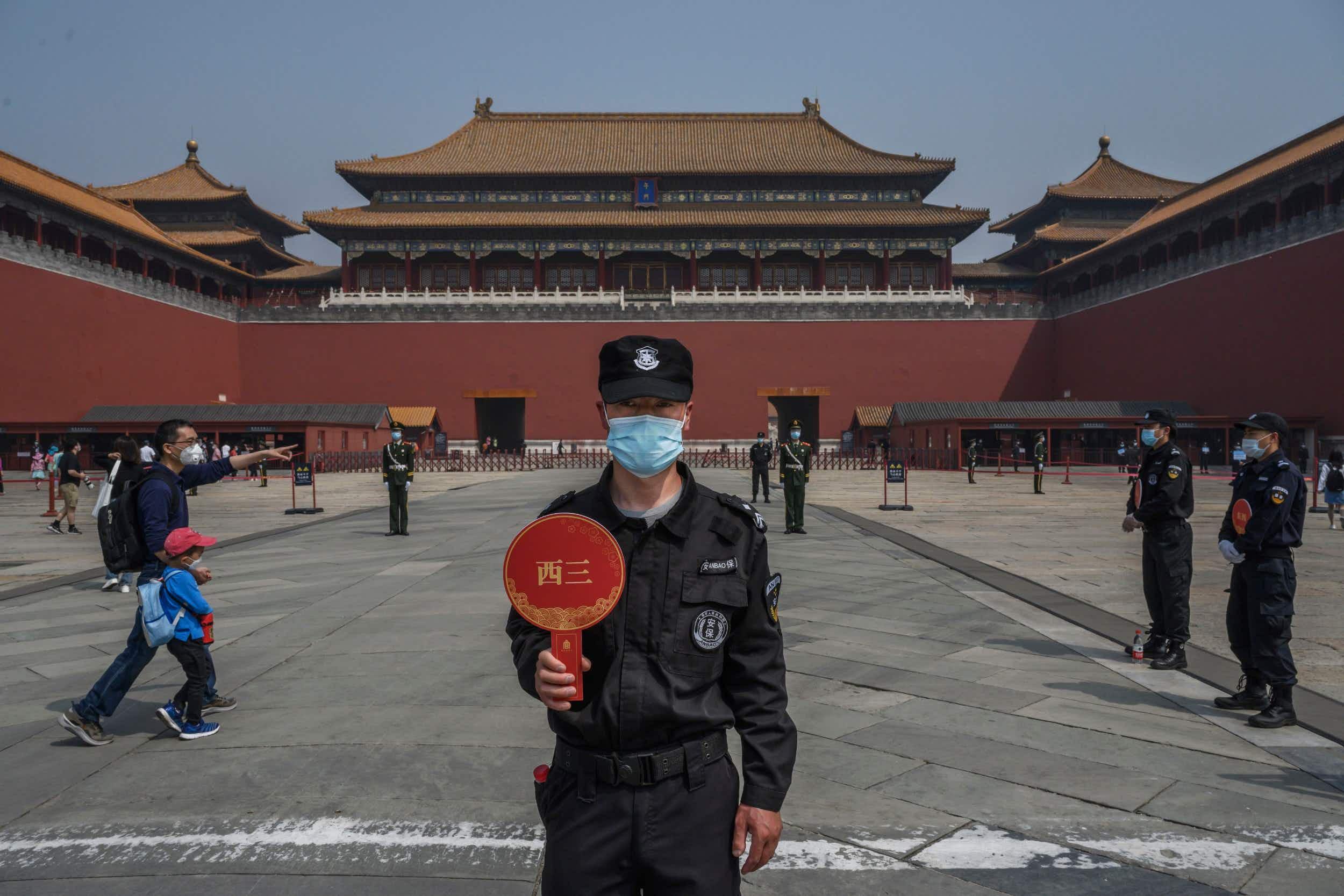 Forbidden City re-opens after the coronavirus