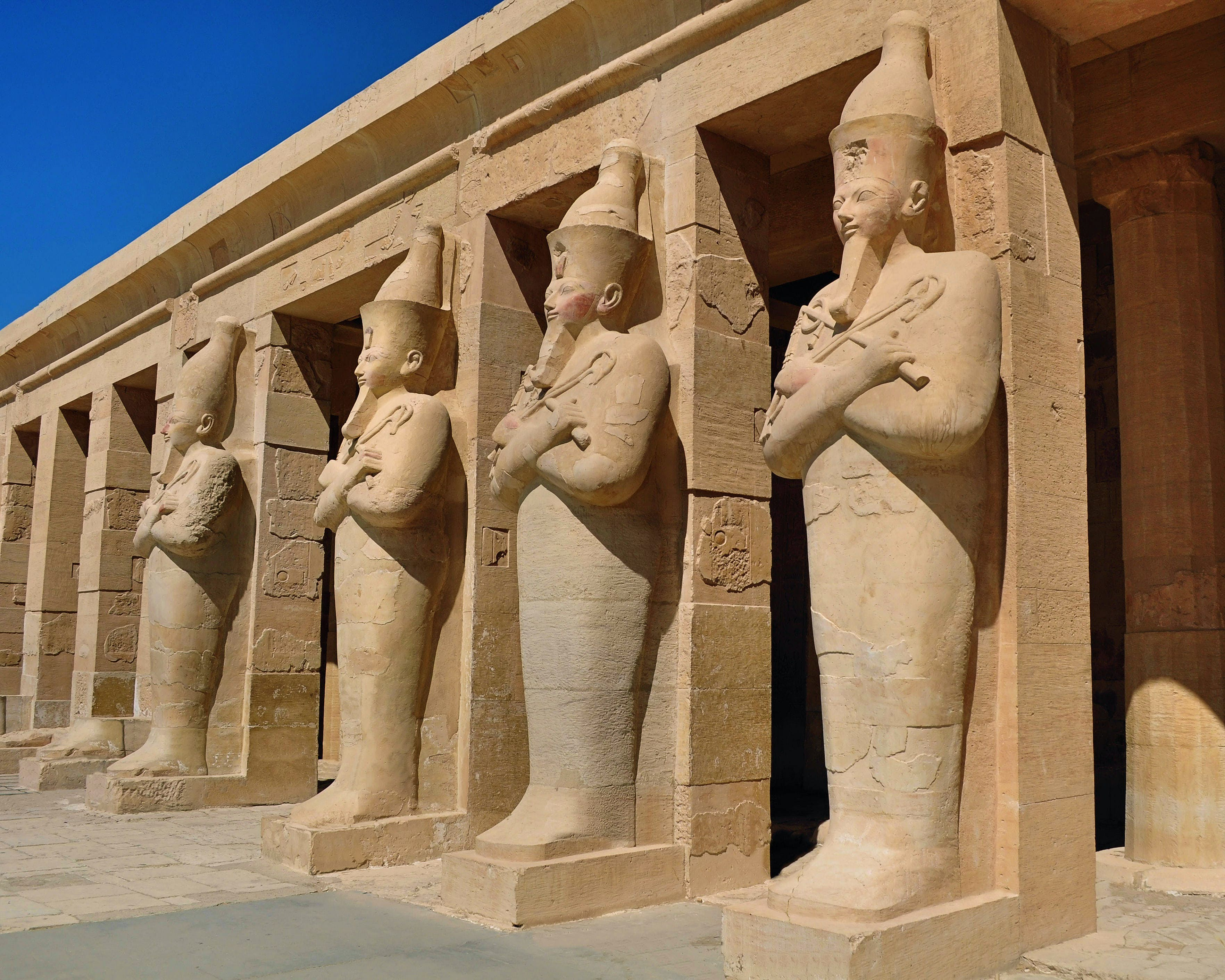 Mortuary temple of Queen Hatshepsut at Deir el-Bahri, Luxor, Egypt