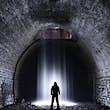 Morlais Tunnel in Merthyr Tydfil, Wales © Mark O'Neill