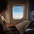 In-flight magazines are touched by multiple travellers during their shelf life. © Getty Images